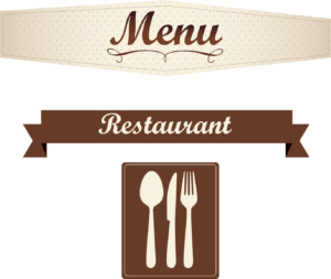 web design for restaurants menu design and upload